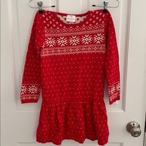 Christmas dress size 120 - 6/7 US
